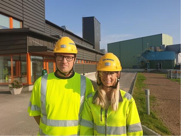 Henrik Norgren och Annika Lidehäll Bodliden Mineral